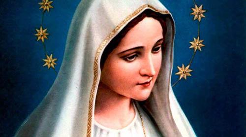 biografia de la virgen maria